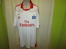 "Hamburger SV Original Adidas Heim Trikot 2010/11 ""Fly Emirates"" Gr.XXL Neu"