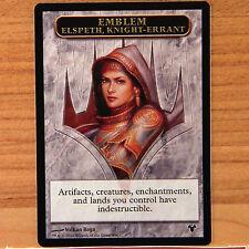 1 x EMBLEM Elspeth, Knight-Errant Modern Event Deck Magic Card Soldier Token MTG