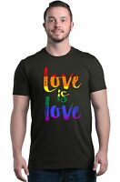 Love is Love T-shirt Gay Pride Rainbow Equal Rights LGBT Shirts