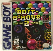 Bust-A-Move 2 Sealed Original Nintendo Game boy Gameboy CIB Complete