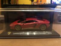 "DIE CAST "" LAMBORGHINI AVENTADOR MIURA HOMAGE - 2016 "" SUPER CAR SCALA 1/43"