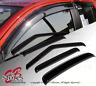 Vent Shade Outside Mount Window Visors Sunroof 5pcs For Honda Civic 2001-05 4DR