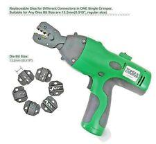 Electric Crimp Battery Powered Crimping Tool Versus Greenlee Ek50ml13811 New