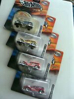 THE DEMONS by HOT WHEELS - 4 CARS - NASCAR COLORS from HOT WHEELS 2001 1:64-READ