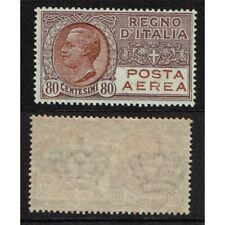 IT6604 - 1928 Regno Posta Aerea 80cent lilla e bruno Sas.3A MNH/**