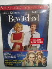Bewitched Movie + First Three Episodes From First Season (2 DVD's) SEALED!