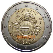 2 EURO COMMEMORATIVO OLANDA 2012 Anniversario