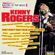 KENNY ROGERS : MASTERS OF POP MUSIC / CD - TOP-ZUSTAND