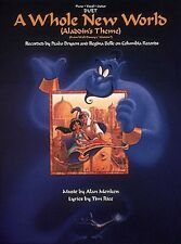 A Whole New World Sheet Music Vocal Duet Piano Vocal Peabo Bryson NEW 000353051