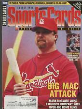 Sports Cards Magazine August 1998 Mark McGwire Cover