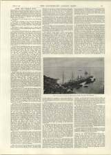 1892 Steamship Chicago On Rocks Old Head Kinsale National Liberal Club