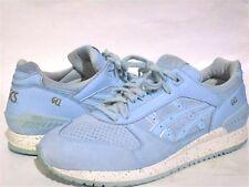 Asics Men's GEL-Respector Crystal Blue Suede H6E3L Athletic Running Shoes SZ 12M