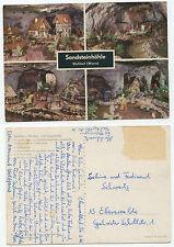 23166 - Sandsteinhöhle Walldorf (Werra) - Ansichtskarte, datiert 26.3.1966