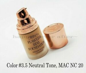 Beauty Creations Flawless Long Stay Foundation - Hydrating Vitamin E -Color #3.5