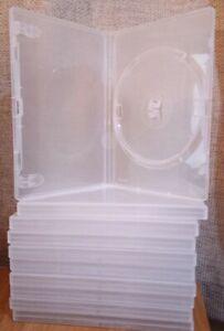 Genuine Amaray Clear Single DVD Cases - Variation Quantity Listing