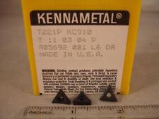 T 221P KC910 KENNAMETAL Carbide Inserts (10pcs) 229