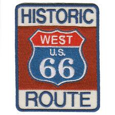 Empiècement à Coudre Patchs 7,5 X 6 cm Historique Route 66 West U.S.06032 Coloré