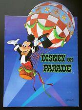 Disney on Parade Program New 1969