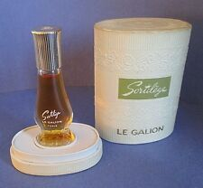 Sortilege Le Galion Vintage RARE Pure Perfume Extrait 1/8 oz Made in France MIB