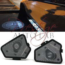 2X Ghost Car Mirror LED Logo Welcome Light Laser Shadow for Benz C-Class W204