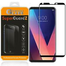 [2-PACK] 3D Curved FULL COVER Tempered Glass Screen Protector Guard For LG V30