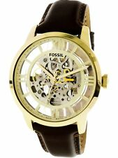 Fossil Men's Townsman ME3043 Brown Leather Automatic Self Wind Fashion Watch