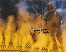 "JEREMY BULLOCH AUTOGRAPH STAR WARS HAND SIGNED ""10x8""BOBA FETT PHOTO EXACT PROOF"