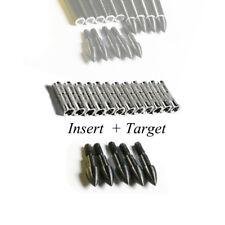 12PCS Bogenschießen Pfeile Arrow Insert 8-32 thread+12PCS 100GR Pfeilspitze