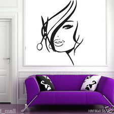 """""""Beauty Salon Girl"""" Removable wall stickers Vinyl decal for home or Beauty Salon"""