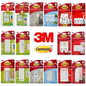 3M Command Picture Hanging Strips Hooks & Clips Damage-Free Hanging