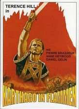 Carthage in Flames , uncut , DVD , new and sealed , Terence Hill