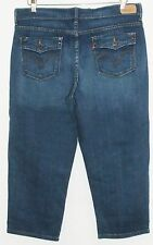 LEVI'S Stretch Crop Jeans Size 14