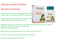 60 Tablet Himalaya Herbal Guduchi Natural Herbal Care