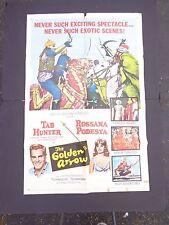 *   THE GOLDEN ARROW--1963---1 SHEET movie POSTER