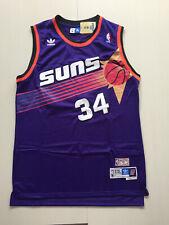 Phoenix Suns #34 Charles Barkley Purple Basketball Jersey Size: S - XXL