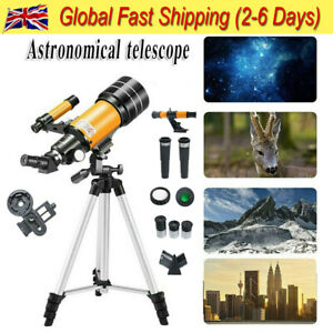 Pro Astronomical Telescope Night Vision With Space Star Moon HD Viewing Gift UK