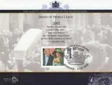 Vel Royalty Beatrix 70 Jaar 2008 - Overlijden van Prins Claus 2002 (vel035)