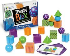 Learning Resources Mental Blox Critical Thinking Game - Read Description