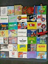 NINTENDO NES - 190+ ORIGINAL MANUALS!! HUGE LOT!! RANDOM ASSORTMENT!