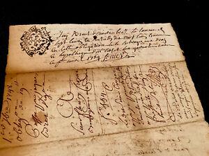 1748 Handwritten Document