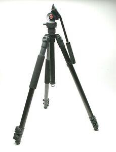 Leica (Gitzo) Traveler Carbon Fiber Camera Tripod W/Video/Photo Fluid Head VH-1.