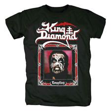 King Diamond Conspiracy Album Tour Cotton Black Unisex T-Shirt For Mens S-6XL