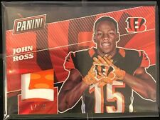 John Ross 2017 Panini The National RAINBOW SPOKES 3 color Glove Patch #'d 17/25