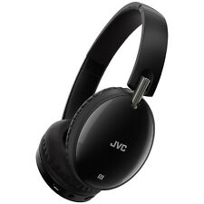 JVC Premium Sound Around Ear Headphones, Black, Wireless Bluetooth, Foldable