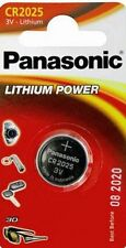 Panasonic Lithium-Based CR2025 Single Use Batteries