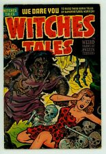 WITCHES TALES #15 FN 6.0 JOE SIMON COVER PRE-CODE HORROR COMIC 1952