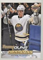 2019-20 VICTOR OLOFSSON UPPER DECK YOUNG GUNS YG CANVAS ROOKIE CARD #C-93