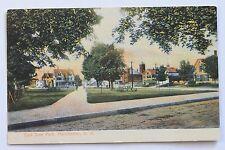 Old UDB postcard EAST SIDE PARK, MANCHESTER, N.H.