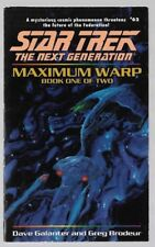 STAR TREK The Next Generation MAXIMUM WARP #62 Book 1 of 2 by Dave Galanter
