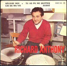 RICHARD ANTHONY DELIVRE-MOI / UNCHAIN MY HEART 45T EP BIEM COLUMBIA ESRF 1351